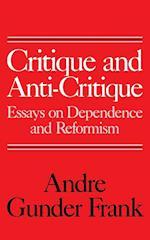 Critique and Anti-Critique af Andre Gunder Frank