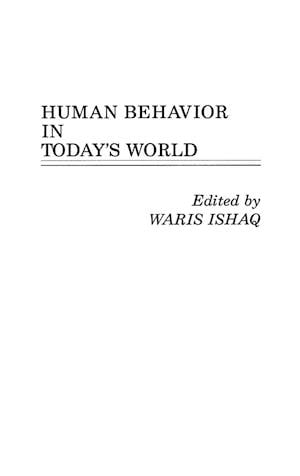 Human Behavior in Today's World