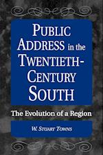 Public Address in the Twentieth-Century South: The Evolution of a Region