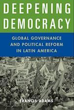 Deepening Democracy af Francis Adams