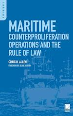Maritime Counterproliferation Operations and the Rule of Law (Praeger Security International)