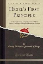 Hegel's First Principle