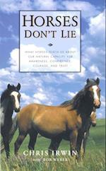 Horses Don't Lie af Bob Weber