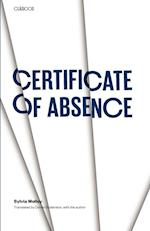 Certificate of Absence af Sylvia Molloy