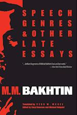 Speech Genres and Other Late Essays (University of Texas Press Slavic Series, nr. 8)