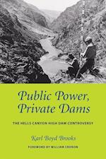 Public Power, Private Dams (Weyerhaeuser Environmental Books Paperback)