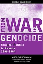 From War to Genocide (Critical Human Rights)