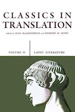 Classics in Translation, Volume II (Latin Literature, nr. 2)