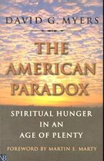 The American Paradox af David G. Myers