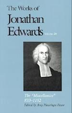 The Works of Jonathan Edwards, Vol. 20 (Works of Jonathan Edwards Series)