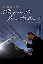 Notes from the Pianist's Bench