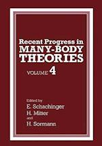 Recent Progress in Many-body Theories af Heinrich Mitter