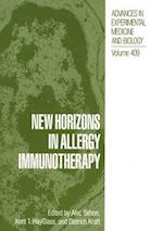 New Horizons in Allergy Immunotheraphy (NATO ASI Series, nr. 409)