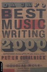 Da Capo Best Music Writing 2000 (DA CAPO BEST MUSIC WRITING)