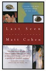 Last Seen af Matt Cohen