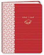 What I Read (Red) Mini Journal af Potter Style