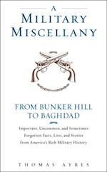 Military Miscellany