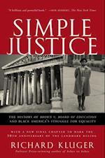 Simple Justice af Richard Kluger