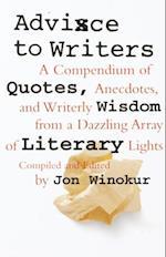 Advice to Writers (Vintage)