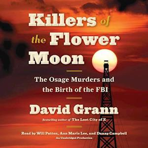 Lydbog, CD Killers of the Flower Moon af David Grann