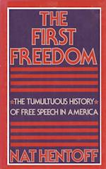 FIRST FREEDOM af Nat Hentoff