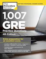 The Princeton Review 1,007 GRE Practice Questions (Gre Practice Questions)