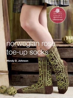 Norwegian Rose Socks af Wendy D Johnson