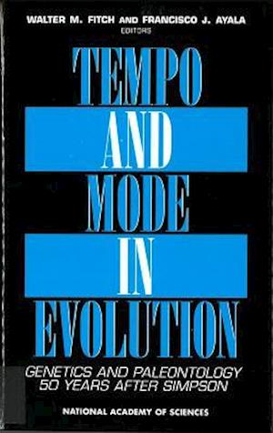 Tempo and Mode in Evolution