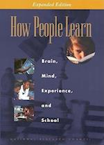 How People Learn af John Bransford, John D Bransford, National Academy of Sciences