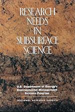 Research Needs in Subsurface Science