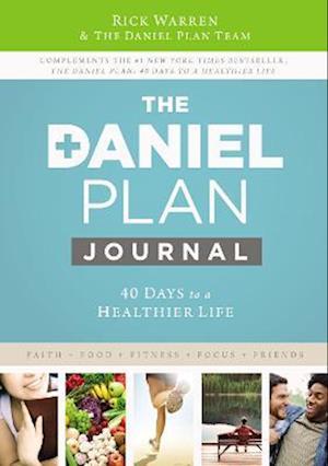 Bog, hardback Daniel Plan Journal af Rick Warren
