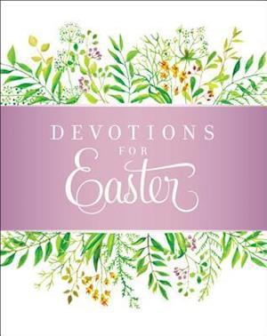Bog, hardback Devotions For Easter af Zondervan