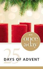 NIV Once-A-Day 25 Days of Advent (Once-a-Day)