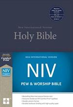 NIV, Pew and Worship Bible, Hardcover, Blue