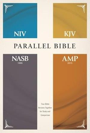 Niv, Kjv, Nasb, Amplified, Parallel Bible, Hardcover