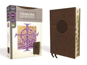 NRSV, Thinline Reference Bible, Leathersoft, Brown, Thumb Indexed, Comfort Print