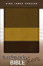 KJV, Backpack Bible for Teens, Imitation Leather, Brown