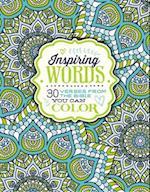 Inspiring Words Coloring Book