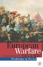 European Warfare, 1453-1815