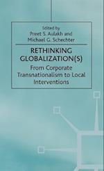 Rethinking Globalization(s)