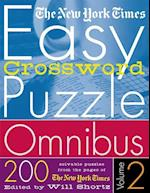 The New York Times Easy Crossword Puzzle Omnibus Volume 2 (New York Times Easy Crossword Puzzle Omnibus, nr. 2)