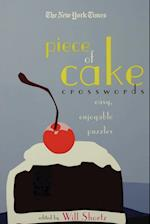The New York Times Piece of Cake Crosswords (New York Times Crossword Puzzles)