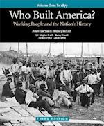 Who Built America? Volume 1 af Nancy Hewitt, Joshua Brown, Christopher Clark