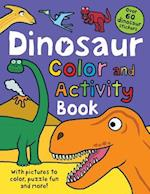 Dinosaur Color and Activity Book