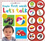 Simple First Words Let's Talk (Simple First Words)
