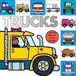 Trucks (Lift the flap Tab Books)