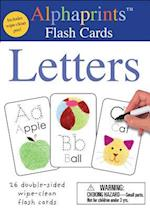 Alphaprints Wipe Clean Flash Cards Letters (Wipe Clean Activity Flash Cards)