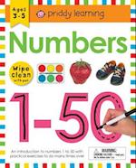 Numbers 1-50 (Wipe-clean Learning Books)