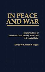 In Peace and War (BIBLIOGRAPHIES AND INDEXES IN WORLD HISTORY, nr. 41)