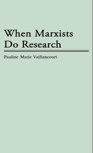 When Marxists Do Research